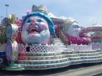 リオのカーニバルと絶景の南米浪漫周遊13日間�キリスト像とお昼に見れたカーニバルの山車編