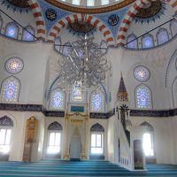 東京ジャーミィの礼拝所内部は本場のモスクでも見ない美しさだった
