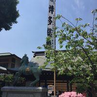 2018GWは2泊3日で福岡と糸島・九重・黒川温泉・篠栗九大の森へドライブ(1日目、櫛田神社とマリンメッセ福岡)