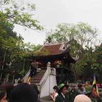 2018年3月、ベトナム、ハノイ旅行(10.ハノイ市内観光 一柱寺)