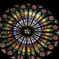 ノートルダム大聖堂を再訪。内部,外部ともにじっくり観察しました。