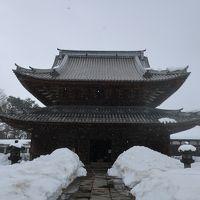 2018冬 雪の富山の旅<第2日>富山城→瑞龍寺→庄川温泉
