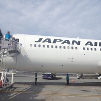 ハワイ島(2)JAL直行便ビジネスクラス