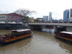 シンガポール川沿いと市街地見所を巡る