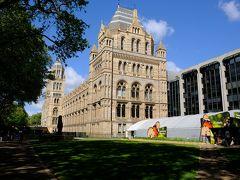 イギリス観光2018 初めてのロンドン ロンドン最終日 自然史博物館とナショナルギャラリー