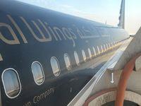 ロイヤルヨルダン航空ビジネスクラスで行くアンマンへ!カイロの道は渋滞してるので飛行機に乗り遅れた〜w