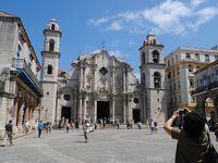GWはキューバへ! その3 旧市街のオビスポ通りからカテドラル広場へ。