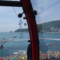 3回目の釜山3日目:松島海上ケーブルカー、南浦洞、広安里