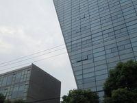 上海の同済大学国際設計中心・安藤忠雄・国康路