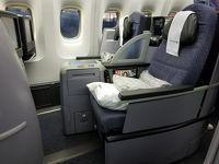 ユナイテッド航空 ビジネスクラス搭乗記 UA979 EWR-EZE B767-400ER