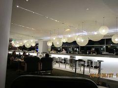 カンタス航空 シドニー空港のラウンジ