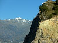 2017.12アンダルシアドライブ旅行34-Sierra Nevada山脈のふもと,Lanjalon,Orgiva をドライブ