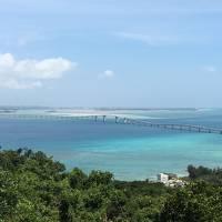 梅雨の中休みの宮古島に行って来ました!宮古島から伊良部大橋を渡って伊良部島、下地島に行って来ました!
