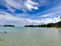 123. UA特典でクック諸島�AKLのNZラウンジとラロトンガのビーチでぐったり。