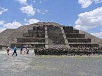 有名なメキシコ中央高原最大の  古代都市遺跡、テオティワカン