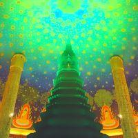 Instagenic Bangkok3*・゜・*まるで宇宙にいるような神秘的な世界 ワットパクナム*・゜・*