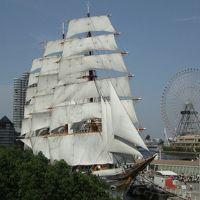初夏の帆船日本丸・横浜みなと博物館見学と大桟橋〜山下公園散歩