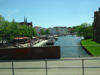 ドイツ大周遊(14) ハンブルクからリューベックへ移動し昼食を摂りました。