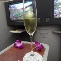 再び!UA特典航空券でクック諸島ラロトンガへ�TGタイ航空B787-8ビジネスクラスでバンコク⇒オークランド・オークランドでトランジットの1泊編