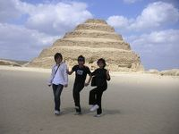 強行軍のエジプトツアー旅行