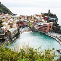 チンクエテッレとアオスタ〜北イタリアの海と山の絶景巡り 【3】チンクエ・テッレを味わい尽くす・その2(2018/3/5)