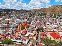 団塊夫婦5回目の世界一周絶景の旅ーメキシコ編(1)カラフルなかわいい街・グアナファト