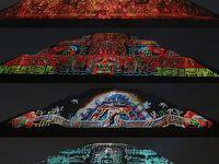 団塊夫婦の5回目の世界一周絶景の旅—メキシコ編(3)ティオティワカンでプロジェクトマッピングショー