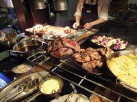 ニュージーランド旅行・ロトルアスカイレストランでのディナー