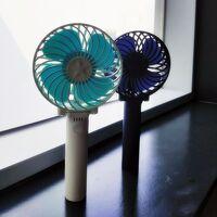 釜山 街歩き8月「手持ち扇風機」