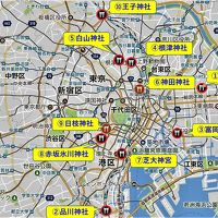 【東京散策88】 ミニ絵馬リベンジの東京十社の二社めぐり、根津神社と白山神社