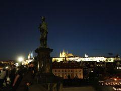 2018.04-05・GW中欧9日間の旅【1】〜プラハのカレル橋近くのホテルから夜の散歩へ〜