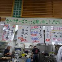 小田原魚市場食堂は有名になり過ぎて最近は混雑しています。