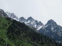 カザフスタン 「行った所・見た所」 アルマトイのメデウからシンブラクに行きました