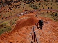 初めての4WDでオーストラリアの砂漠を冒険の旅3 ウルル登頂 レッドセンターウェイ (4WD Adventure drive in Australian Outback 3 - Climbing Uluru & Red Centre Way)