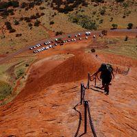 初めての4WDでオーストラリアの砂漠を冒険の旅3 ウルル登頂・レッドセンターウェイ (4WD Adventure drive in Australian Outback 3 - Climbing Uluru & Red Centre Way)