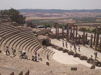 灼熱のチュニジア・ツァー参加記7 ドゥッガ遺跡とブラ・レジア観光後メディナへ