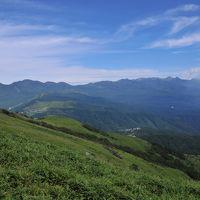 台風が来る前に高原へ〜信州車山高原と諏訪湖の夕景〜