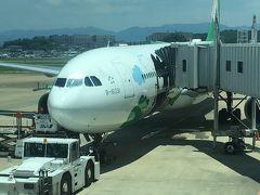 [中欧音楽旅2018-01]エバー航空で福岡~ウィーン:台湾で10時間トランジット