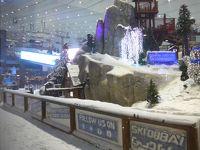 2018年7月のドバイ&アブダビは暑い!!そして何もかもが半端じゃない!! (*^-^*)のパート7〜次に訪れた世界一は「モール・オブ・ジ・エミレーツ」にある世界最大のインドア・スキー場「スキー・ドバイ」、気温差50℃の真冬の世界!!
