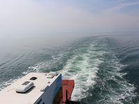 カナダ東部5州、ドライブ旅行2018 Day2-4(広いサンローラン河を渡りながら、鯨を見る)