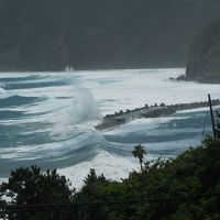 八丈島へ 2.スノーケリング、台風、そして帰道