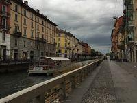 [スイス横断旅行+ミラノ]� デパートショッピングとナヴィーリオ運河散策