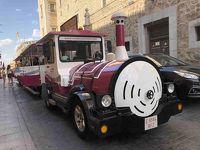 [バルセロナ・トレド・マドリッド・パリ個人旅行]� トレドの街を「ソコトレン」で疾走!