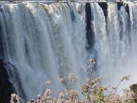 ヴィクトリアの滝 ザンビア・ジンバブエ両方+空からも見る!