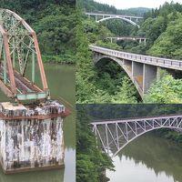 ◆会津若松〜長岡 只見線沿線の橋梁等を巡る旅◆その1 会津若松〜本名