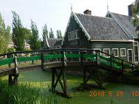 春のチェコとウィーンを巡る(番外編) 36 ザーンセスカンス(オランダ)〜帰国