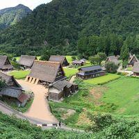 酷暑の中 富山(五箇山)〜岐阜(高山) あちちの旅 その1 東京・富山