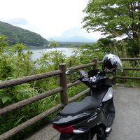 2018 ソロツーリング � 125ccバイクで 富士五湖めぐり〜南アルプス