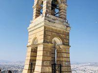 アテネ散策:リカビトスの丘に登る[2018年8月9月ギリシャ5]