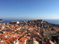 夏休み@クロアチア縦断ドライブの旅� ドブロブニグ  オレンジ屋根と青い海